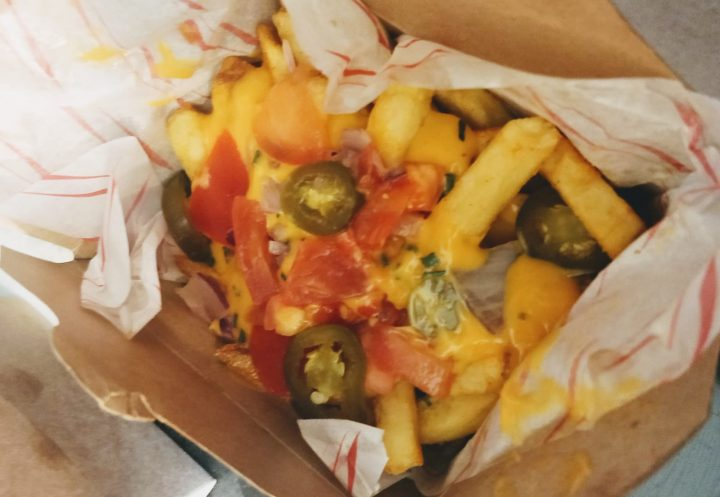 Mr. Cheesy nacho fries