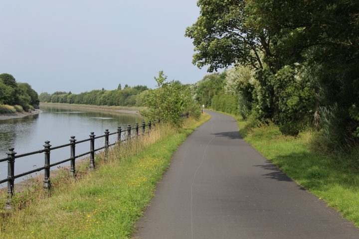 Path along the Ribble Pic: Geoffrey Whittaker