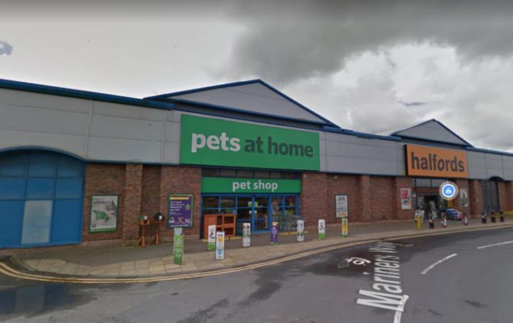 Pets at Home, Mariners Way. Pic: Google