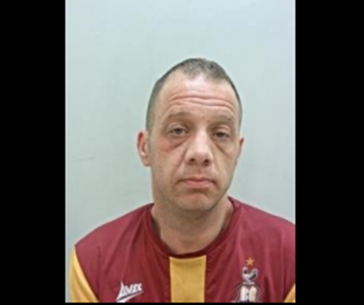 Adrian Maud, 43, Leyland. Pic: Lancashire police
