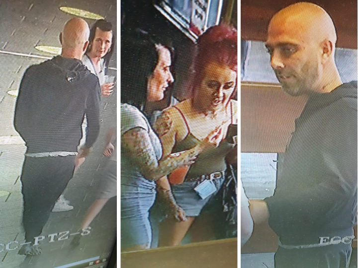 The images from Preston Bus Station CCTV