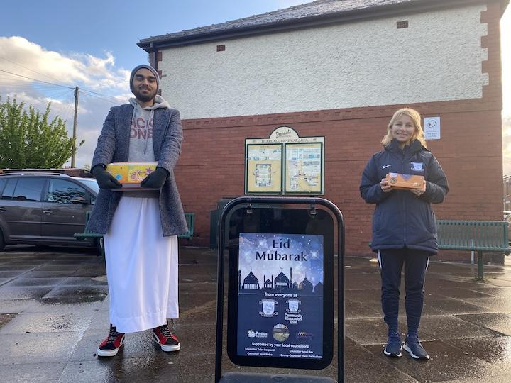 Sweet deliveries for Eid Pic: PNECET