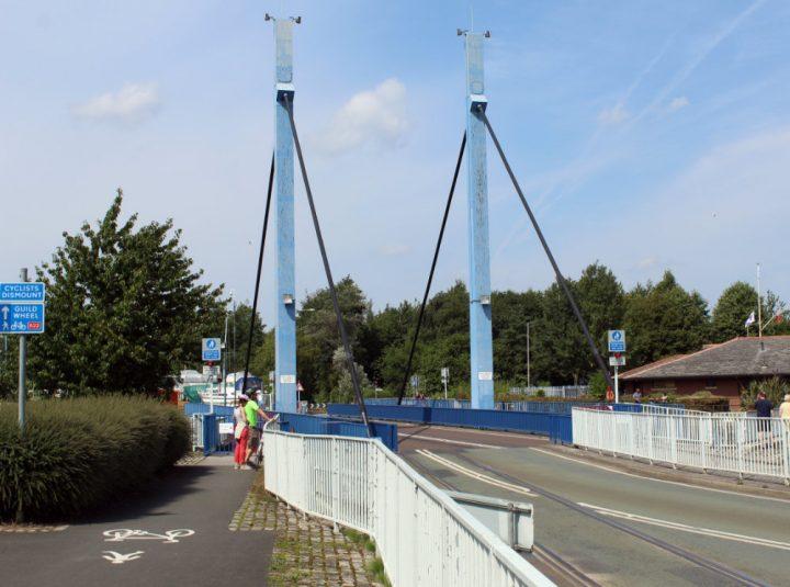 Swing bridge Pic: Geoffrey Whittaker