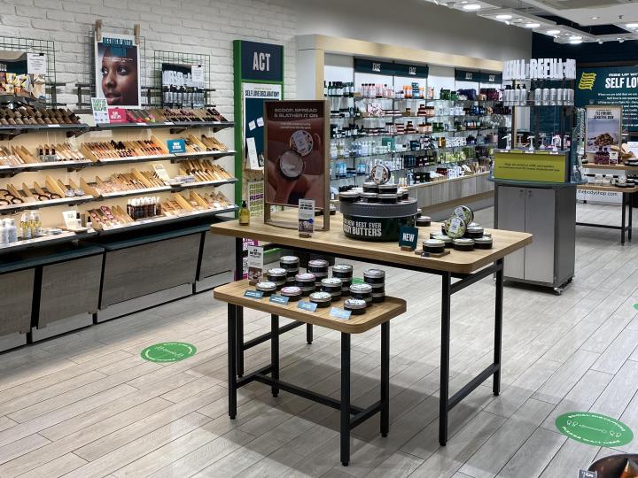 The Body Shop store in Preston