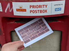 The People's Palace of Possibility postbox