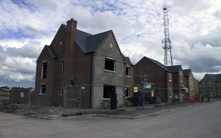 New housing development in Preston Pic: Jack Harkins