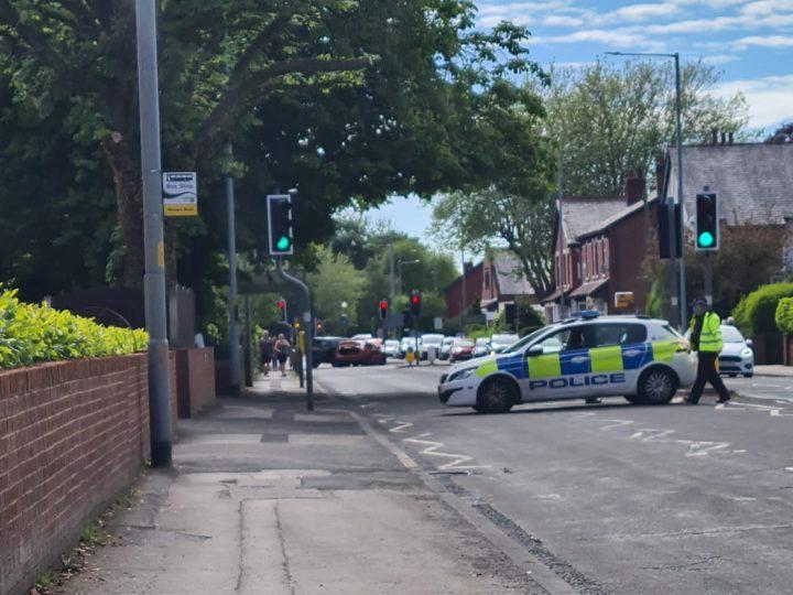 Crash at Blackpool Road and Tulketh Road junction Pic: Ayman Fazeli