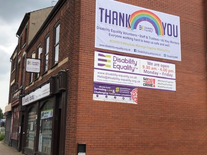 Disability Equality North West in Church Street
