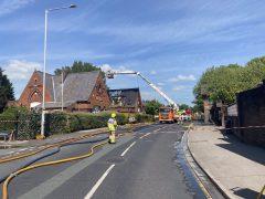 Blaze at Busy Bees nursery, Bamber Bridge. Pic: Lancashire Fire