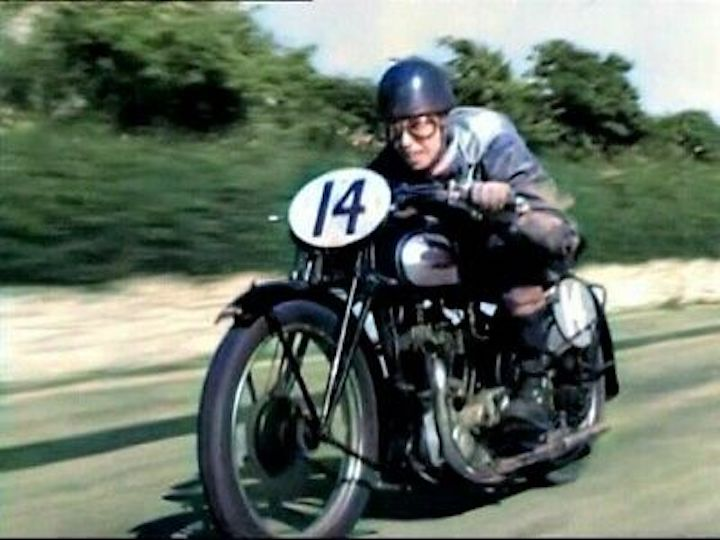 Still of George Formby in No Limit