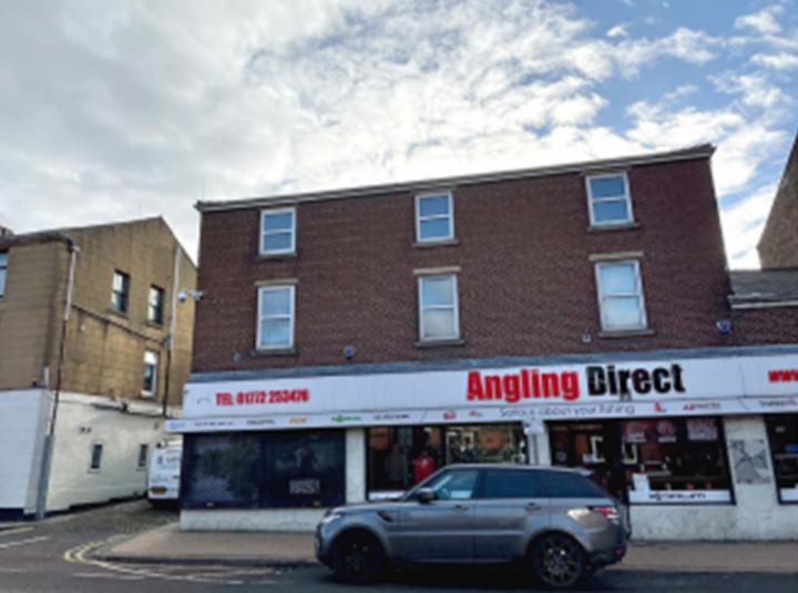 Former Ted Carter fishing shop, Church Street.
