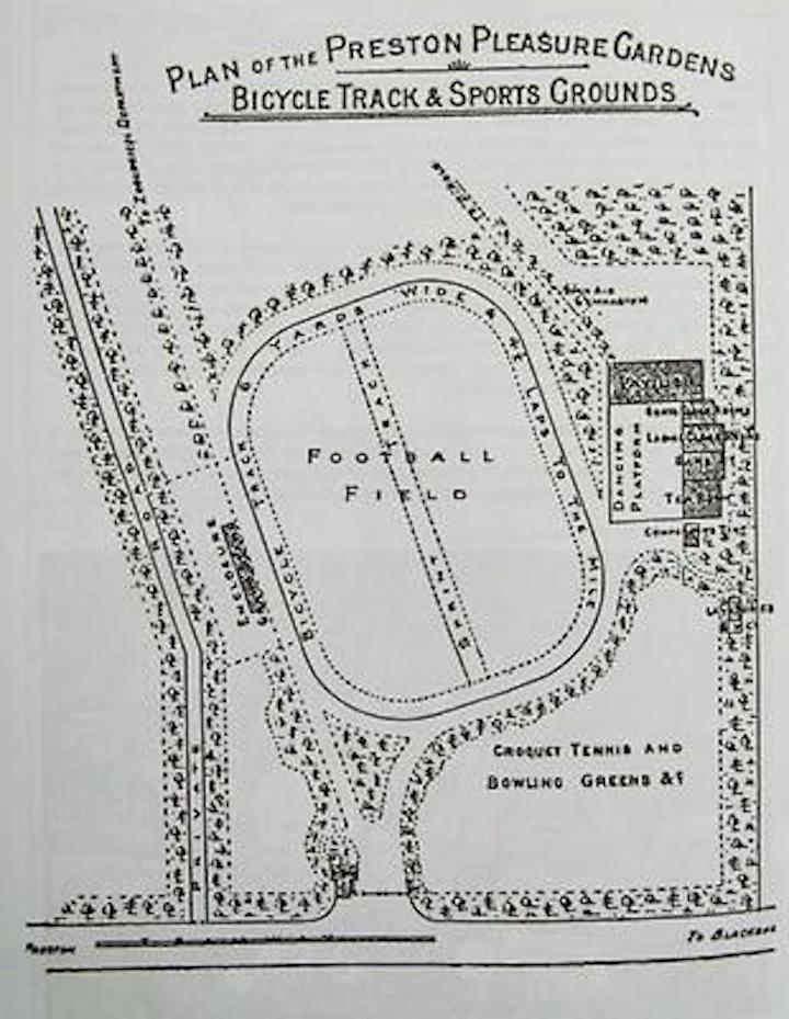 Plan of Preston Pleasure Gardens