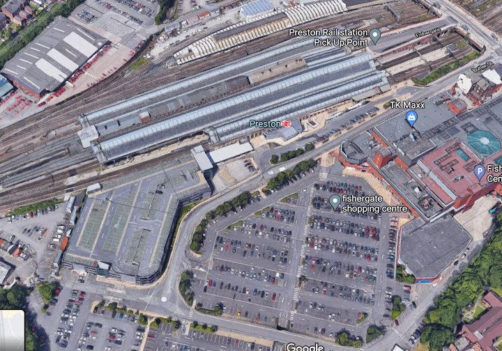 Preston Station Pic: Google