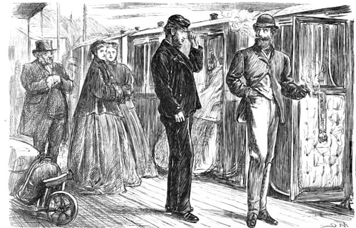 Punch cartoon from 1867