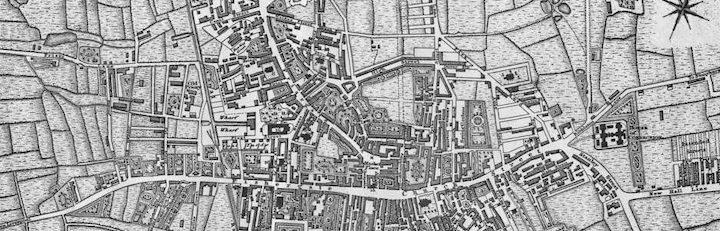 1660 map of Preston Pic: prestonhistory.com
