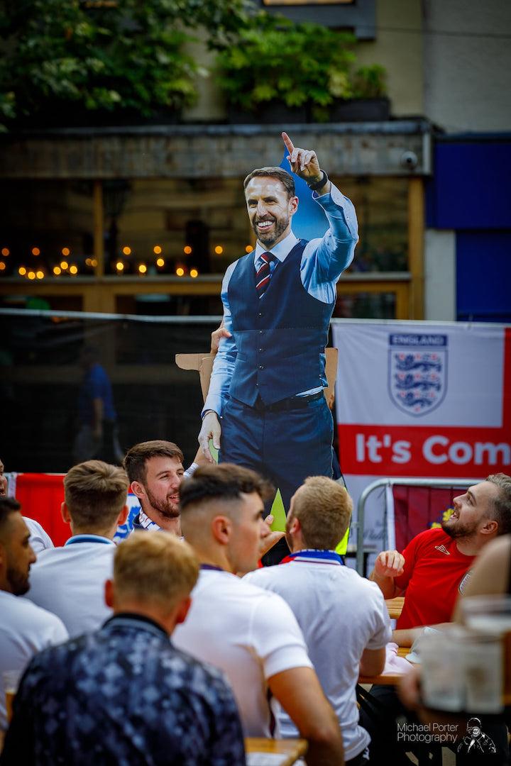 Euro Fan Zone for England v Ukraine Pic: Michael Porter Photography