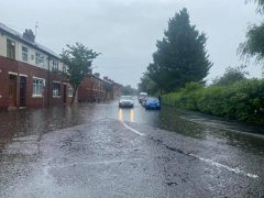 Hartington Road was affected by flooding Pic: Mark Wilson