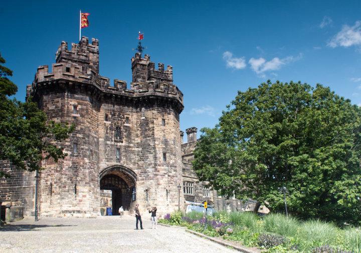 Lancaster Castle gatehouse Pic: Geoffrey Whittaker