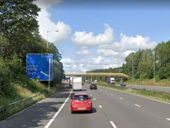 M6 near Leyland Pic: Google