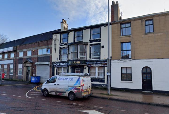 Former Lamb Hotel, Church Street. Pic: Google