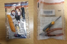 Numerous potential weapons were seized Pic: South Ribble Police