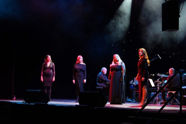 Female quartet performing in Prest End Pic: Create Theatre