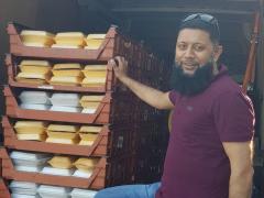 Just under 240 meals were delivered Pic: Preston's Promise