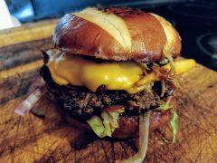 Scrandinavia burger