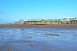 St Anne's pier Pic: Tony Worrall