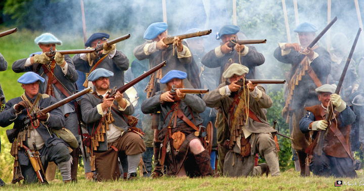 The Earl of Manchester's Re-enactors