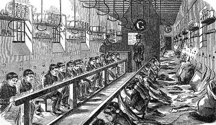 The prison like workhouse system Pic: ILN