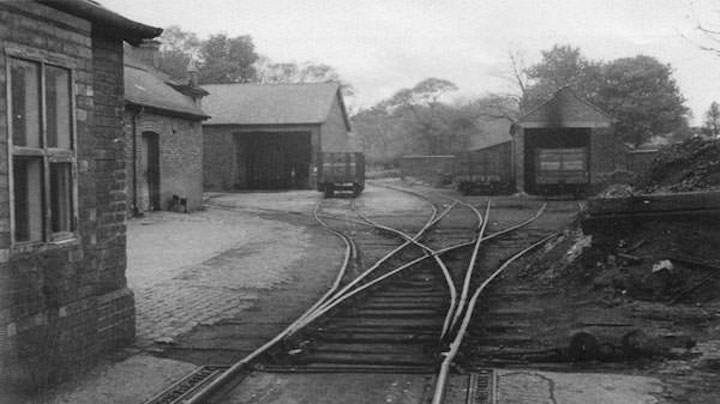 The rail yard at Whittingham Pic: Opacity