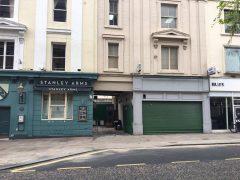Former pharmacy, Lancaster Road.