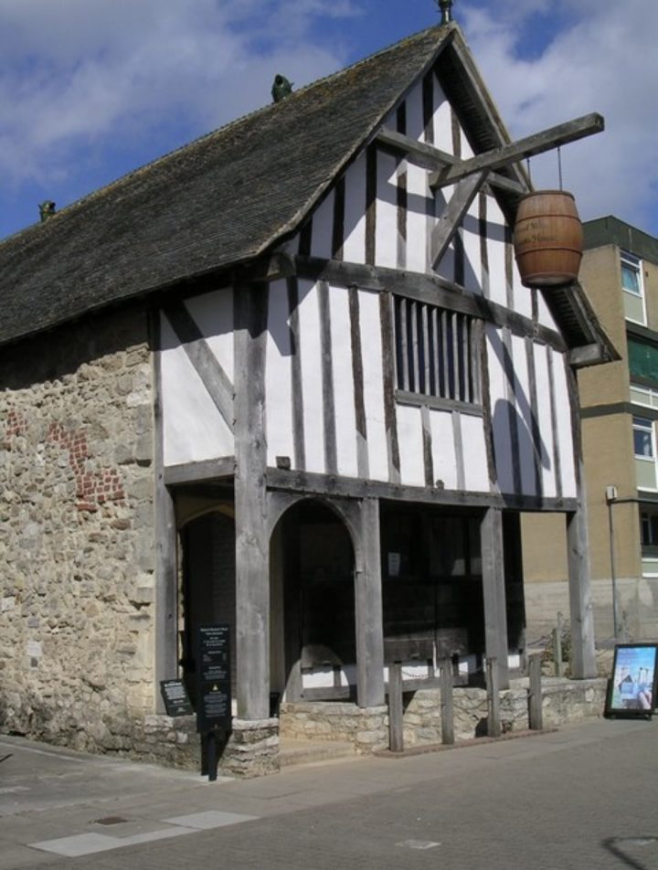 A 13th century merchant's house built in 1280 Pic: Tim Knight