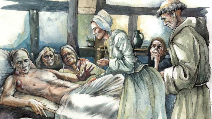 Depiction of The Black Death Pic: Mark Gridley