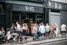 Inside NIKO wine and beer bar. Pic: Nicola Campbell
