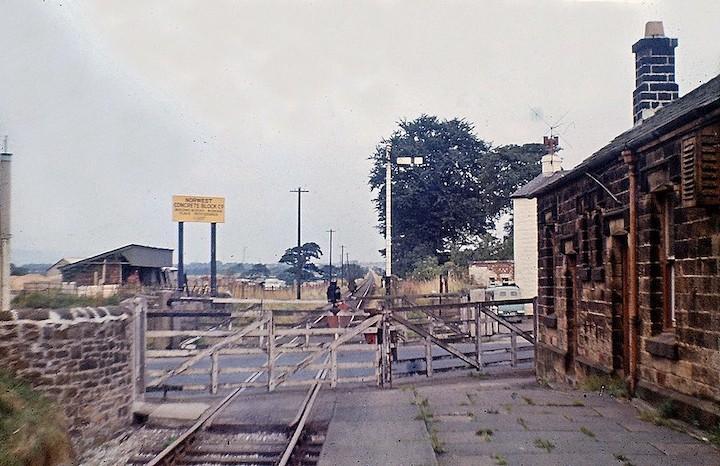 Grimsargh Station in 1964 Pic: Preston Digital Archive