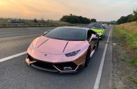 Lamborghini Huracán Pic: Lancs Road Police