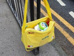Missing Sesame Street bag