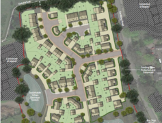 Plans for 51 new houses in Broughton.