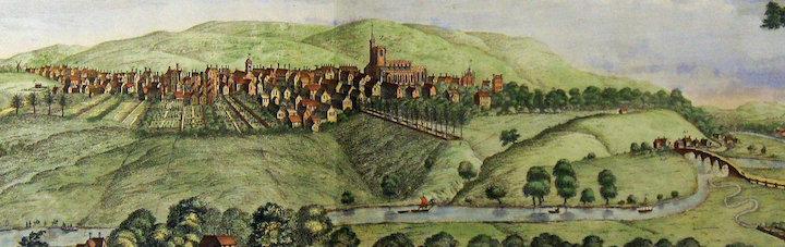 Preston in 1728 Pic: Preston Digital Archive