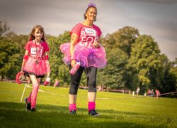 Attendees at Race for Life 2021 Pic: Michael Porter Photography