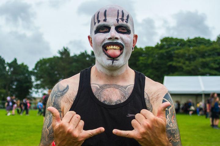Rockprest revellers Pic: Mark McLoughlin Photography