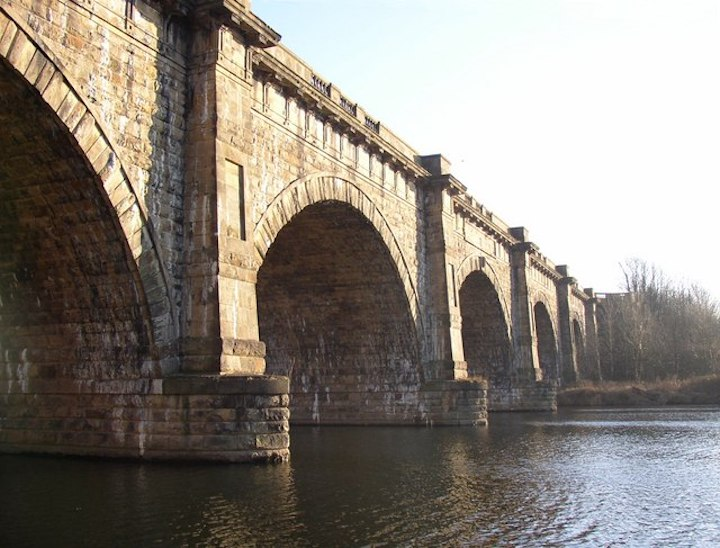 The Lune Aqueduct Pic: Preston Digital Archive