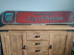 The Virgin Pendolino City of Preston nameplate Pic: Scott Doohan