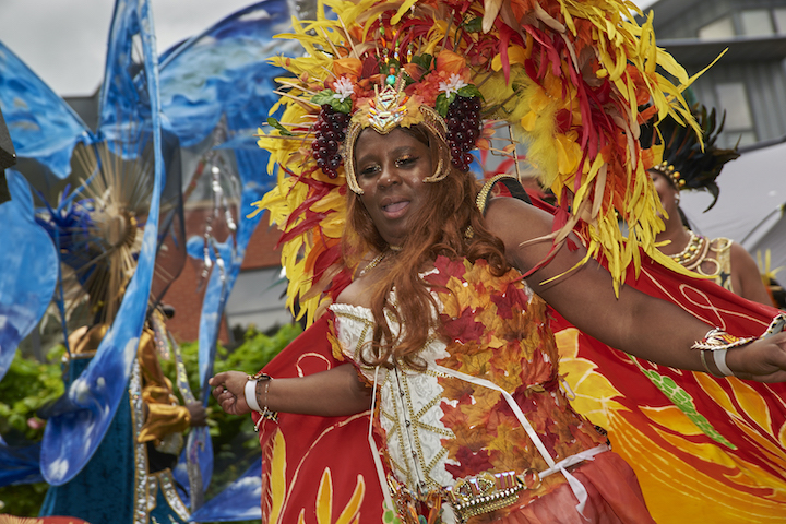 Caribbean Carnival virtual event at Overleigh House in Preston Pic: Garry Cook