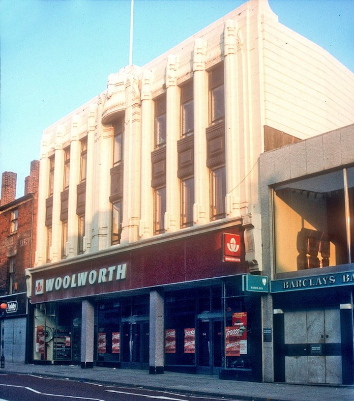 Old Woolworths store Pic: Preston Historical Society