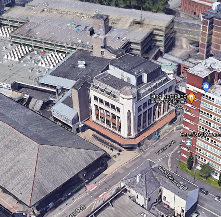 Old Co-op store Pic: Google Maps