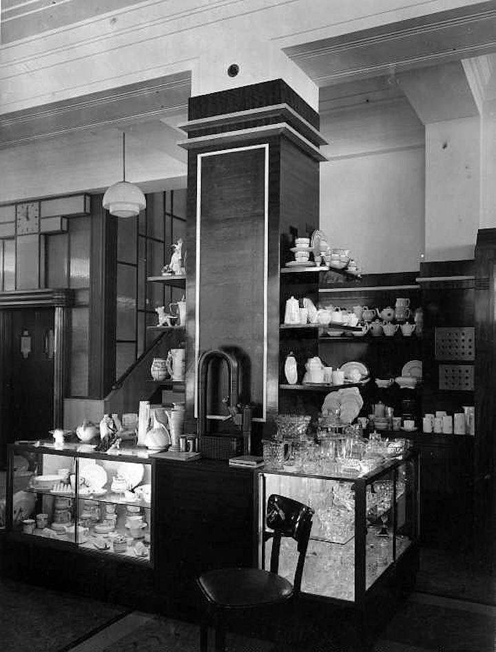 Co-op ceramics department in 1935 Pic: Preston Digital Archive
