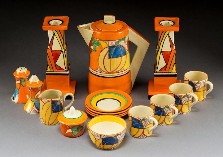 1930s Art Deco pottery Pic: The English Home